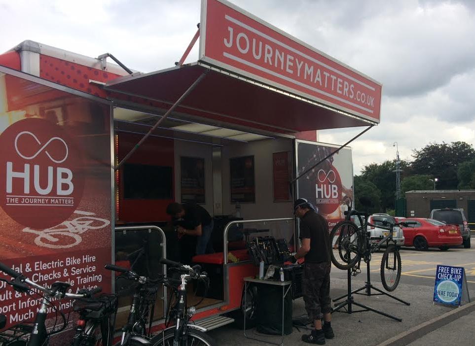 Dr Bike at Rotherham Hospital