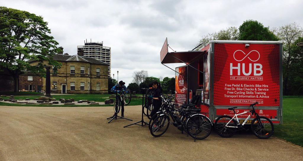 Dr Bike at Clifton Park